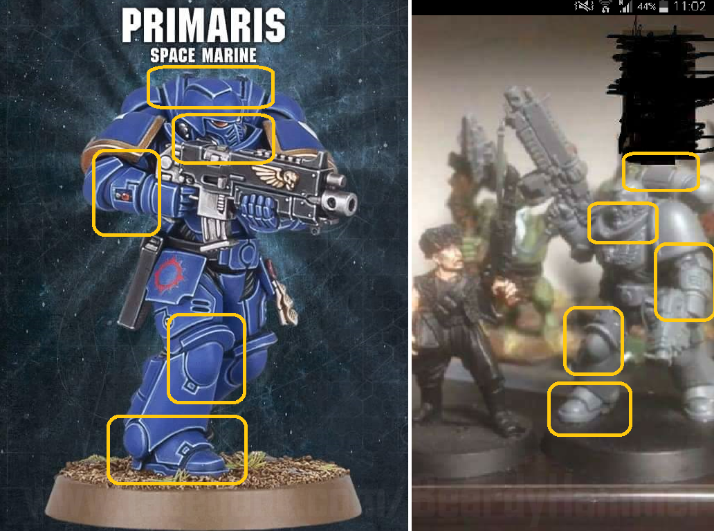 New Space Marine 2017 beardy Hammer