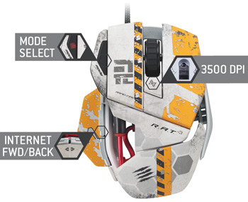 Mad Catz titanfall mouse