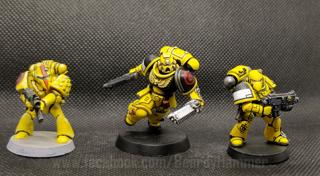 Yellow Space Marines
